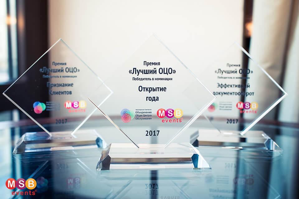 Лауреаты премии «Лучший ОЦО 2017»