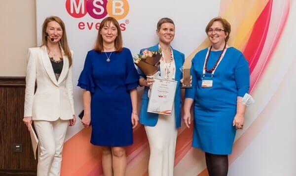 Кира Лапина стала победителем в номинации «Лидер ОЦО»